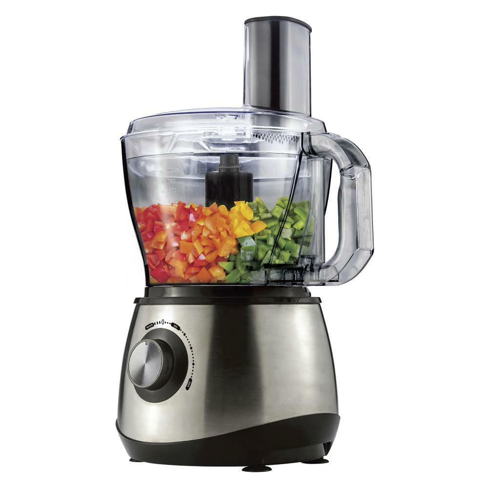 Brentwood Select FP-581 Stainless Steel Food Processor, 8-Cup (fp581)