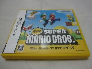 Details about W/Tracking 7-14 Days to USA  USED Nintendo DS New Super Mario  Bros Japanese Ver