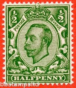 SG. N4 (UNLISTED). ½d deep yellow green. A very fine UNMOUNTED example.
