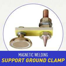 1x Magnetic Metal Welding Magnet Head Welding Support Ground Clamp Without Tail