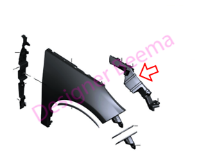 avant droit BMW i3 série I01 Supporting Strut Panneau Latéral JS
