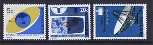 Australian-Decimal-Stamps-1968-WWW-and-Intelsat-Set-of-3-MNH-SPECIAL-PRICE