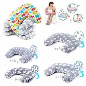 DELUX-BREAST-FEEDING-MULTIPURPOSE-SUPPORT-PILLOW-MATERNITY-NURSING-WITH-COVER