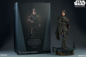 Star Wars Rogue One Format Jyn Erso Prime 1/4 Statue Sideshow