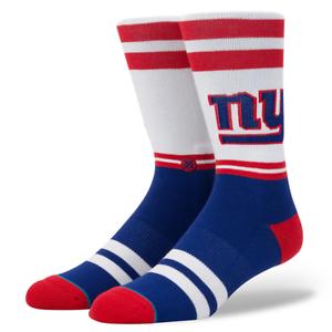 STANCE NEW YORK GIANTS SIDELINE MEN/'S NFL SOCKS M558C17NYG LARGE