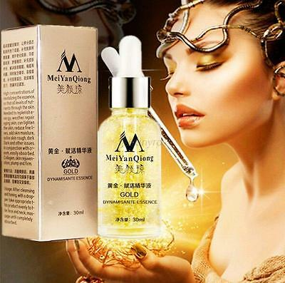 24K Gold Removes Liquid Face Cream Collagen Skin Care Whitening Anti-age Wrinkle