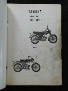 1968 Yamaha 80cc Yg1k Yg1 Yg1tk Motorcycle Parts Catalog Manual Very Good Shape Ebay
