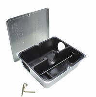 Rodent Bait Stations (12 Pack) Tamper-resistant Galvanized Steel Rat Stations