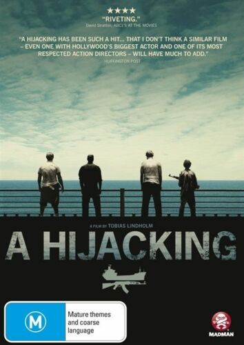 1 of 1 - Tobias Lindholm's A Hijacking (Region 4 DVD, 2014) Many Extras As New, Free Post