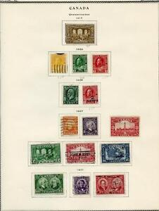 CANADA-LOT-OF-USED-STAMPS-MIXED-CONDITION-GREAT-LOT-AS-SHOWN