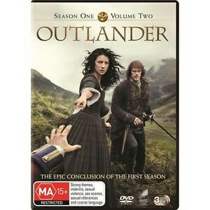 Outlander Season 1 Volume 2 Region 4 New And Sealed 3 Dics Set Tv Series Ebay