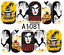 Nail-Art-Stickers-Transfers-Decals-Halloween-Ghosts-Bats-Pumpkins-Skulls-Blood miniatuur 4