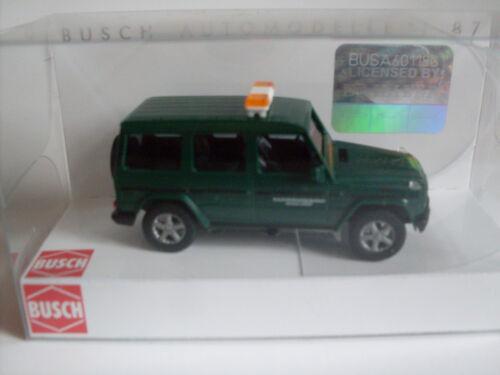 Busch h0 51421 MERCEDES G 90 mezzi di lotta eliminazione del veicolo Modello 1:87