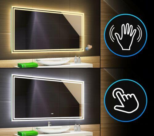 LED Badspiegel Beleuchtung TOUCH /& SENSOR SCHALTER Bad Spiegel Badezimmerspiegel