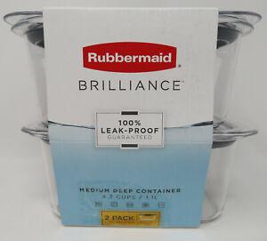 Food Storage Container Brilliance Medium Deep 4.7 Cup ...