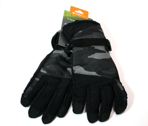 Mens Waterproof TOUCH SCREEN Compatible SKI GLOVES 40g Thinsulate ALL SIZES