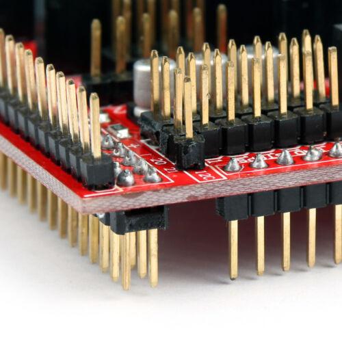 Controller Schild Board RAMPS 1.4 Für 3D Drucker Reprap Prusa Mendel Neu AH