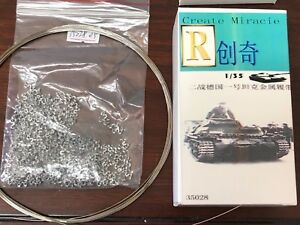 R Model #35083 1//35 Metal Track For WWII German 38T Late type