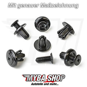 15x-securisation-CLIPS-Pare-chocs-Helice-CLIPS-Kia-Hyundai-couper-NEUF