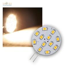 10 x Leuchtmittel G4 mit 12 SMD LEDs warmweiß 170lm, LED-Birne Stiftsockellampe