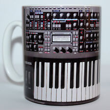 Custom Access Virus TI keyboard Synthesizer novelty mug studio producer keyboard