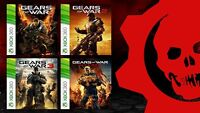 4 Full Games Gears Of War 1 2 3 & Judgement Xbox 360 & One Download Card Dlc
