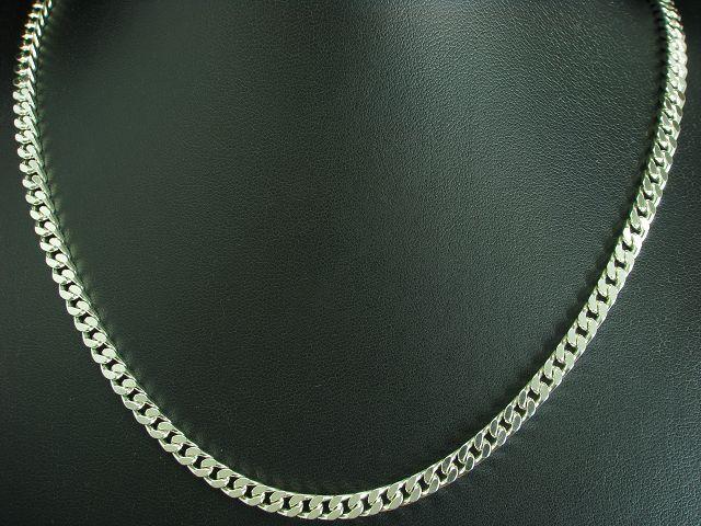 925 STERLING silver PANZERKETTE   HALSKETTE   ECHTsilver   29,0g   55,2cm