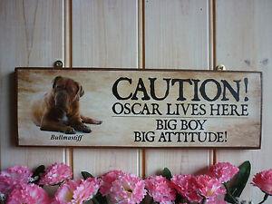 BEWARE  F IN DOG KENNEL HOUSE SIGN  GARAGE PLAQUE