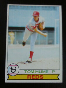 Tom-Hume-1979-Topps-Baseball-nr-mint-7-no-301-Reds