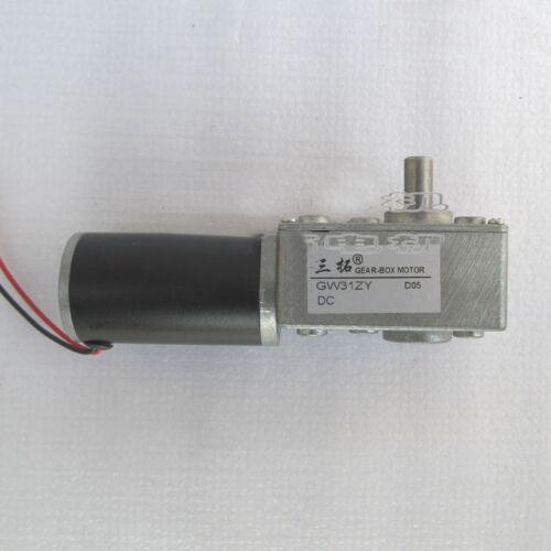 New GW31ZY Turbine worm gear motor Adjustable speed motor DC12V DC24V