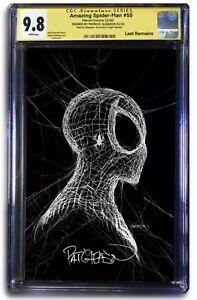 Amazing Spider-Man #55 Exclusive Signed Virgin Variant Patrick GleasonPRESALE!
