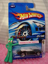 2006 Hot Wheels '69 CAMARO Convertible #021 oc☆Black; 5sp☆#18 First Editions
