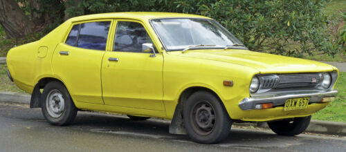 Datsun 1200 Sunny B210 120Y 4door sedan model complete weatherstrip 7PCs seal