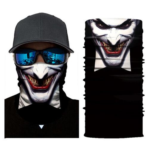 3D Animal Skeleton Skull Tube Face Neck Tube Scarf Balaclava Motorcycle Bandana