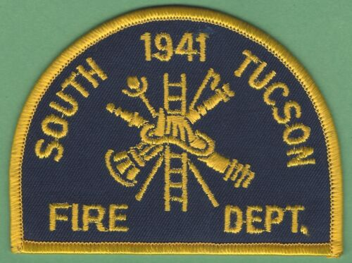 SOUTH TUCSON ARIZONA FIRE DEPARTMENT PATCH