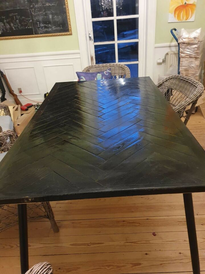 Spisebord, Sildebensplankebord, Tornow