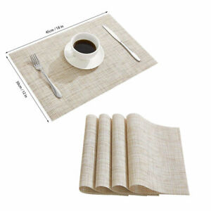 Placemats-Set-of-4-Table-Mats-Non-Slip-Heat-Insulation-Stain-Resistant-Mats