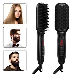 Electric-Heated-Quick-Multifunctional-Beard-Straightener-Comb-Hair-Straightener