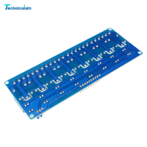 12V 8 Channel Relay Module With Optocoupler for Arduino UNO 2560 ARM PIC AVR