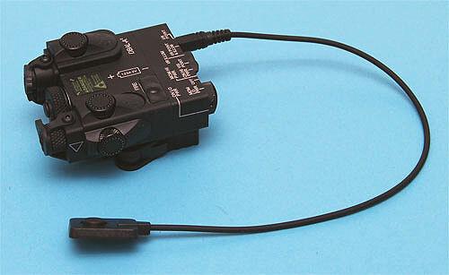 G&P DUAL LASER Destinator E ILLUMINATORE nero per Airsoft giocattoli GP959
