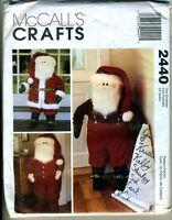Santa Door Greeters - 40 Tall Santas - Mccalls Craft Pattern