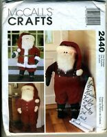 Santa Door Greeters - 40 Tall Santas - Mccalls Craft Pattern