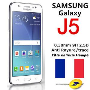 Samsung-Galaxy-J5-2016-2017-Vitre-film-protecteur-VERRE-Trempe-protection-ecran