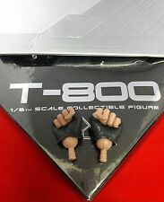 1/6 Hot Toys The Terminator T-800 MMS136 Pair of Gloved Fists *US Seller*