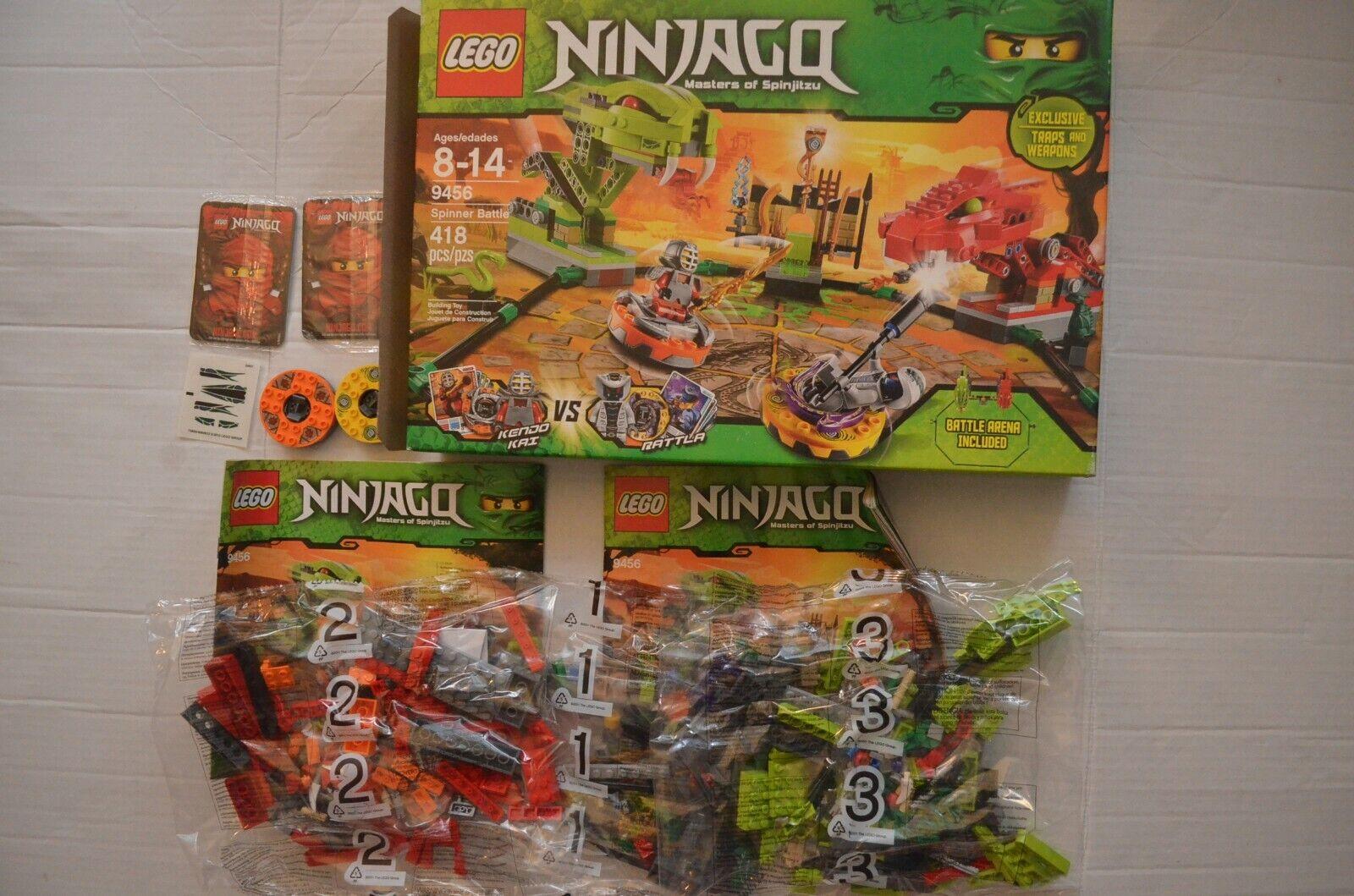 LEGO Ninjago Exclusive Set Spinner slåss Arena (NY IN ÖPPEN låda)