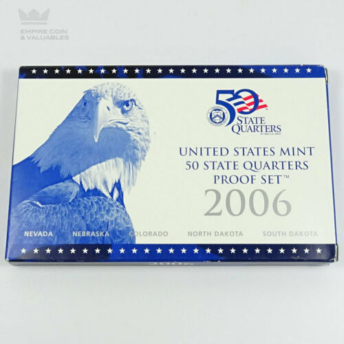 Mint 50 State Quarters Proof Set 2006 U.S