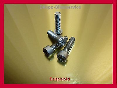 10St Innensechskant-Schrauben DIN912 M 5 x 12 Edelstahl V2A DIN 912 M5x12