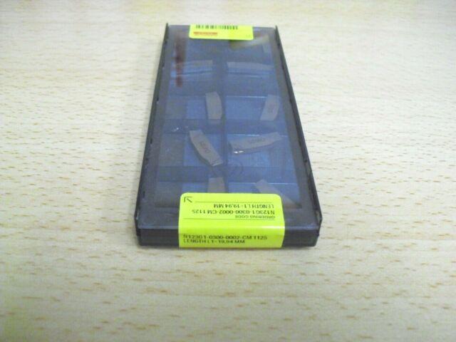 N123F2 0250-0002 CM 2135 SANDVIK Insert **10PCS** Genuine