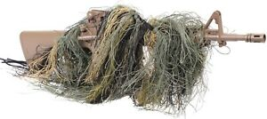 Camo-Ghillie-Lightweight-Sniper-Rifle-Wrap-Cover-Hunting-Concealment-Bow