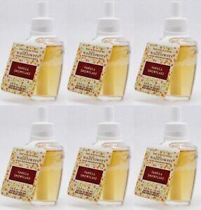 6 Bath /& Body Works Wallflower WHITE CARAMEL COLD BREW Scent Plug In Refill Bulb